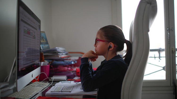 How to Keep Your Kids Safe While They're Doing Online Schooling