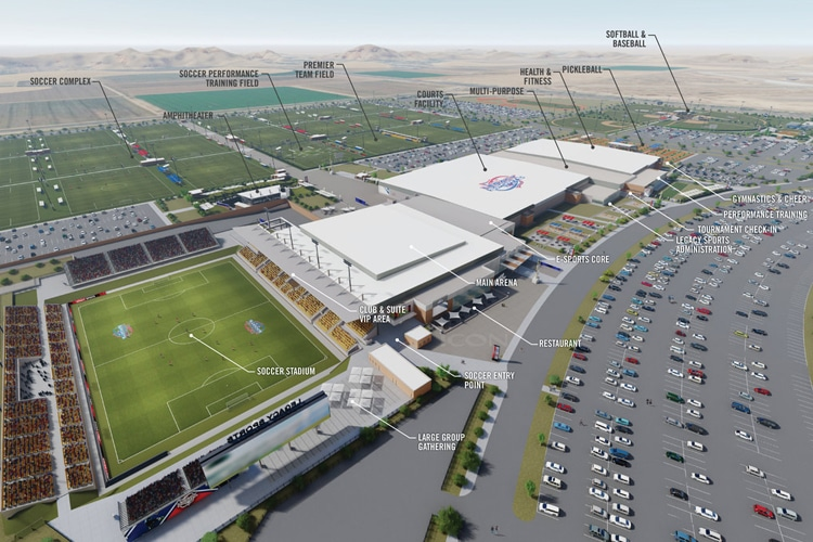 Construction Set to Begin on Sports/Entertainment Complex in Mesa