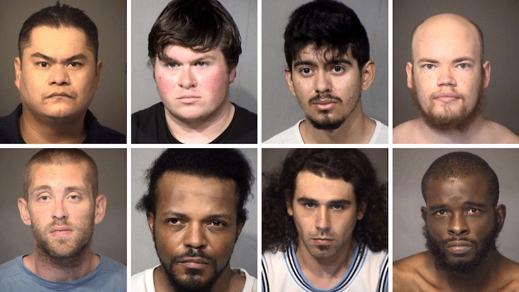 8 Arrests Made in Undercover Child Sex Crime Operation In Mesa