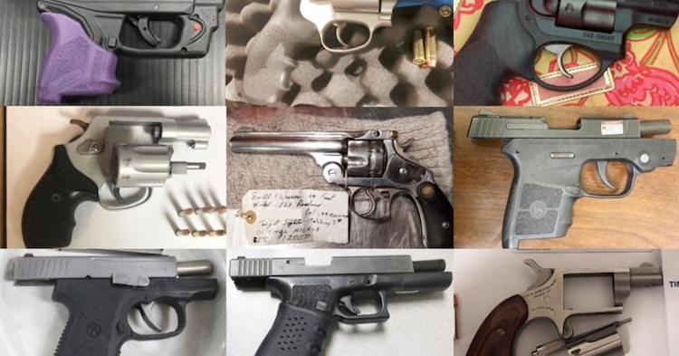 TSA Has Seized 62 Firearms So Far This Year at Sky Harbor