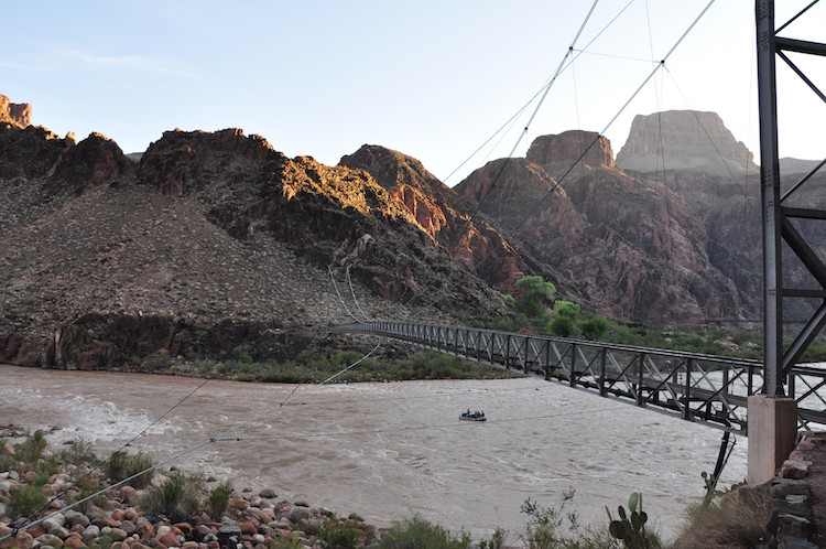 Silver Bridge Temporarily Closed in Grand Canyon National Park