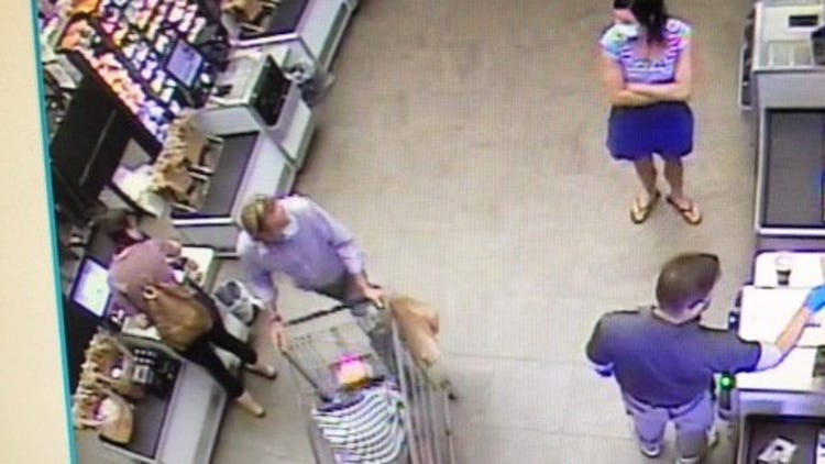Man Arrested After Attempted Baby Abduction At Flagstaff Store, Caught On Surveillance Camera