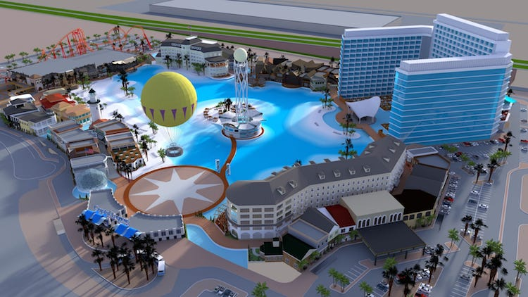 Glendale Approves Massive Water Park Development
