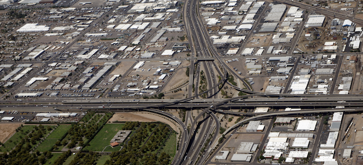 Overnight Closures at I-10 'Stack' Interchange in Phoenix Start Oct. 20