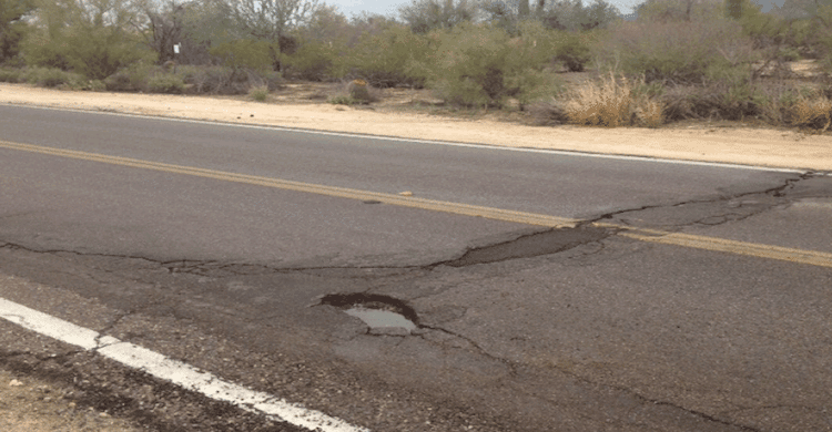 $23 Million Headed to Arizona For Emergency Road and Bridge Repair