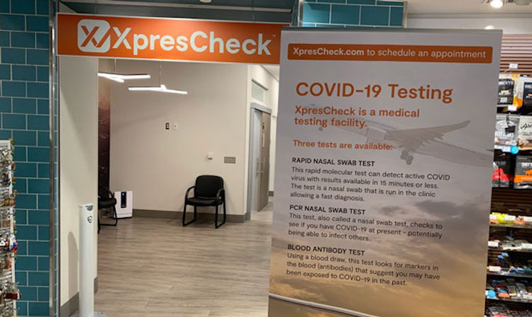 COVID-19 Testing Facility Opens at Sky Harbor Airport