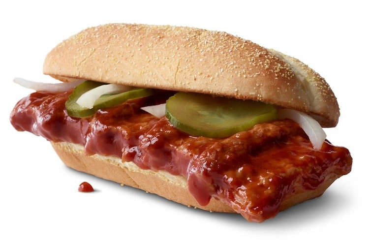 McRib Returns to McDonald's For First Time in 8 Years