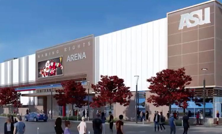 Arizona Board of Regents Approves New ASU Sports Arena