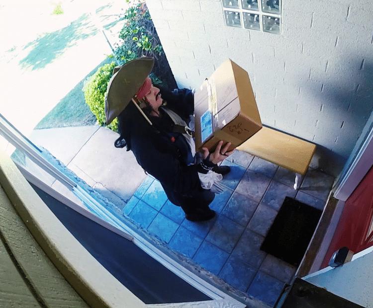 Silent Witness Offering Cash Reward to Help Catch Porch Pirates