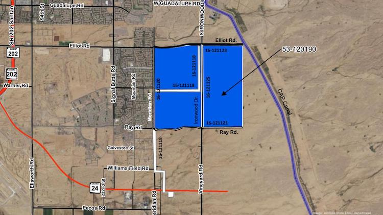 Homebuilders Run Up Price of East Valley Land at State Auction