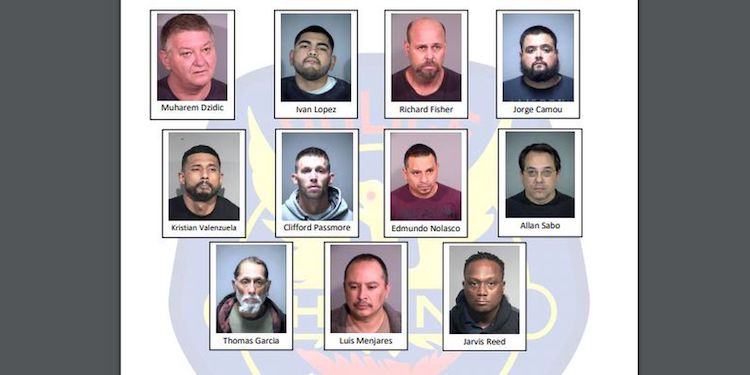 11 Men Arrested in Undercover Operation Targeting Child Predators in Phoenix