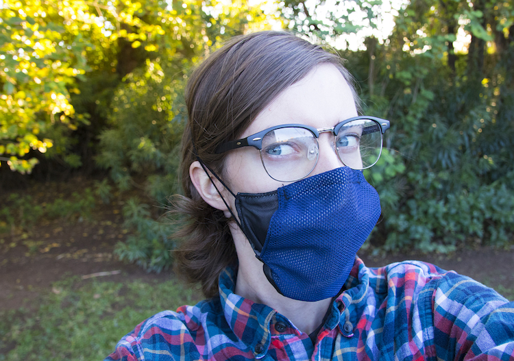 Anti-Fog Mask Design by ASU Students Wins International Competition