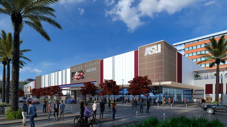 ASU to Begin Arena Construction in January