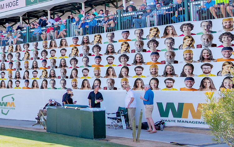 Fans Can Have Their Photo at 16th Hole at Phoenix Open