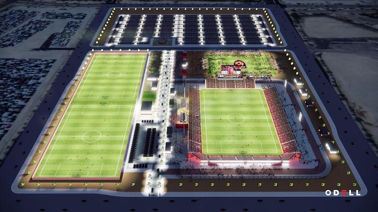 Phoenix Rising FC to Move into New Stadium Next Season