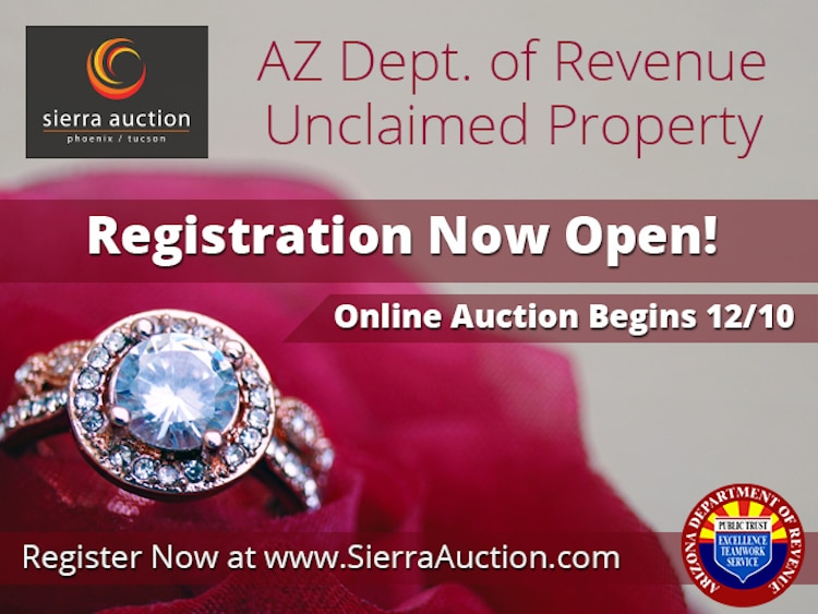 Arizona to Auction Unclaimed Property Online, Including Gold