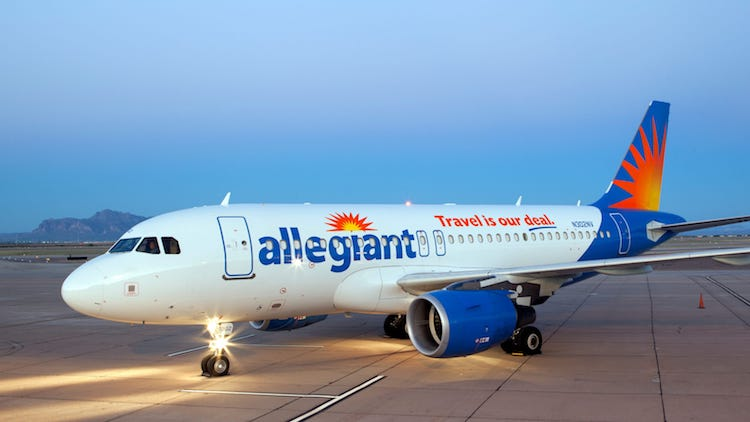 Allegiant Announces $39 Flights from Mesa to San Diego