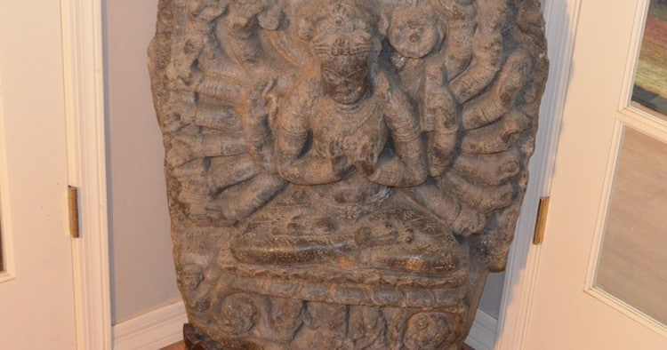 Buddhist Statue Shipped to U.S. Illegally Recovered in Phoenix