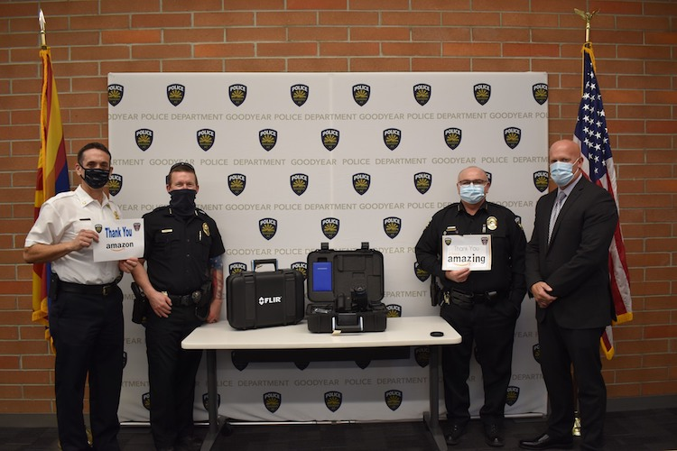 Goodyear First Responders Receive Thermal Cameras From Amazon Donation