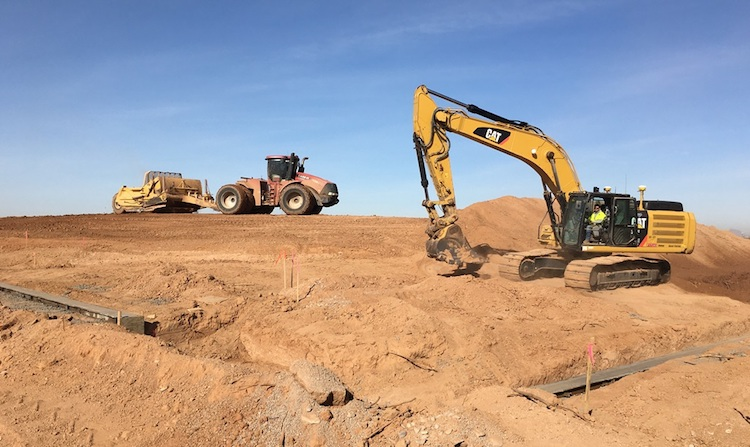 Pair of East Valley Freeway Projects in Early Construction Stages