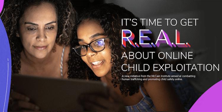 McCain Institute Launches Online Child Sex Exploitation Campaign