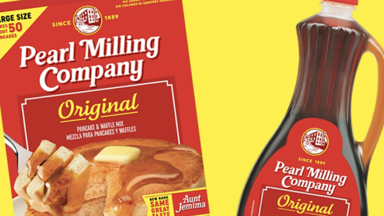 'Aunt Jemima' Pancake Mix and Syrup Renamed 'Pearl Milling Company'