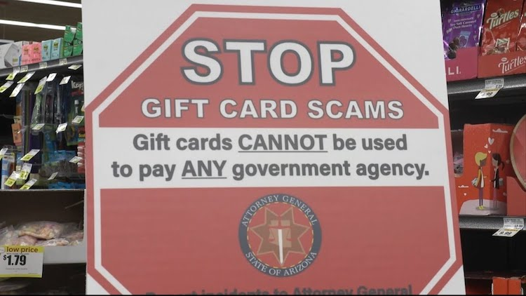 AG Brnovich Launches Program to Stop Gift Card Scams