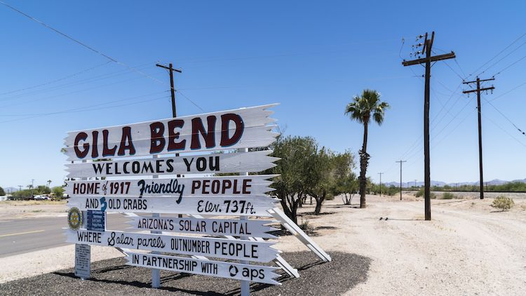 Migrant Crisis Forces Gila Bend to Declare 'State of Emergency'