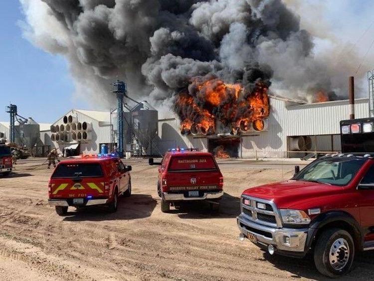 Hickman's Family Farm Suffers Second-Alarm Fire