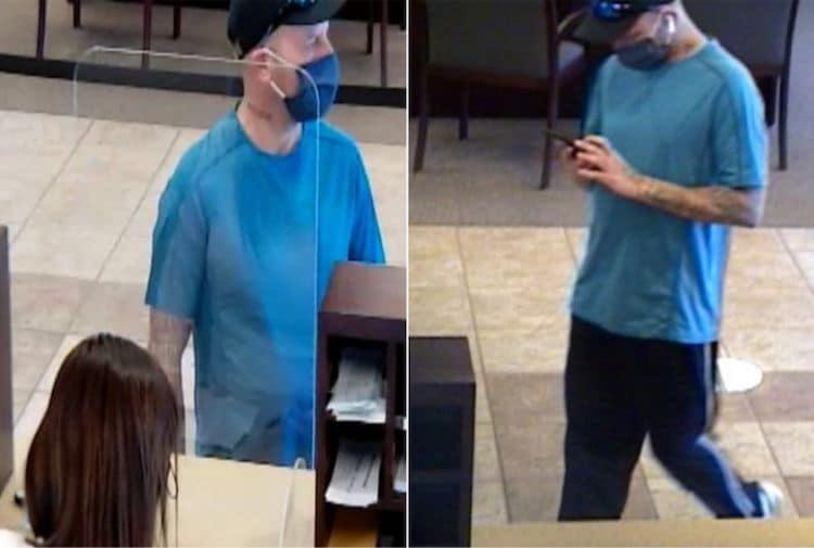 FBI Arrests Bank Robbery Suspect