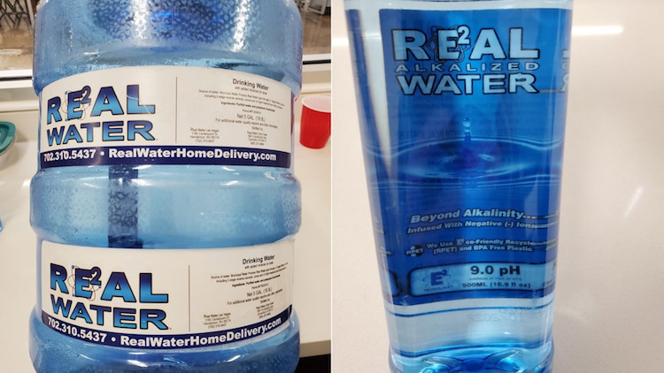 """Warning Issued for Las Vegas Based """"Real Water"""" Brand After Liver Illness Link"""