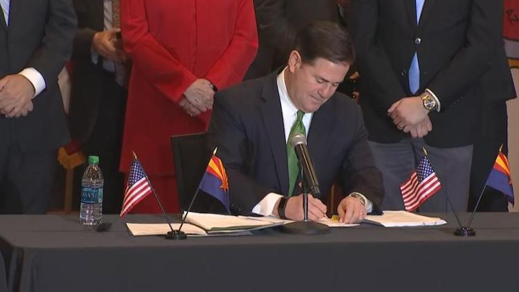 Governor Ducey Signs Historic Bill To Allow Sports Betting in Arizona