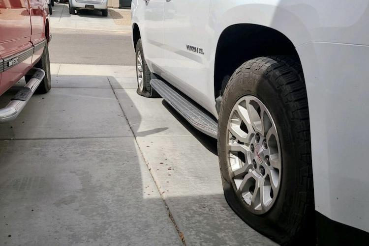 Maricopa Woman Finds Severed Finger in Her Driveway Next to Her Slashed Tires