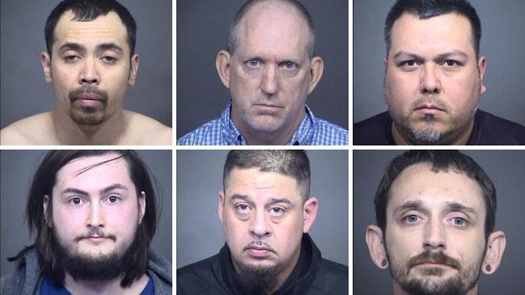 Six Arizona Men Arrested During Undercover Child Sex Crimes Investigation