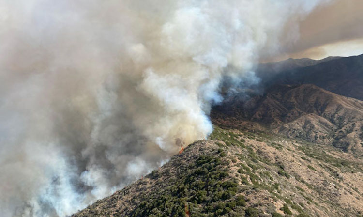 Wildfire Southwest of Crown King Forces Evacuations