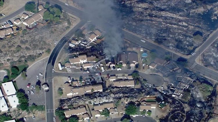 13 Homes Lost, Wildfire Forces Evacuation of Entire Town in Bagdad