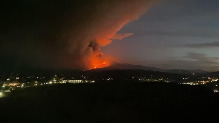 Telegraph Fire Grows to 76,260 Acres, Evacuation Orders Given