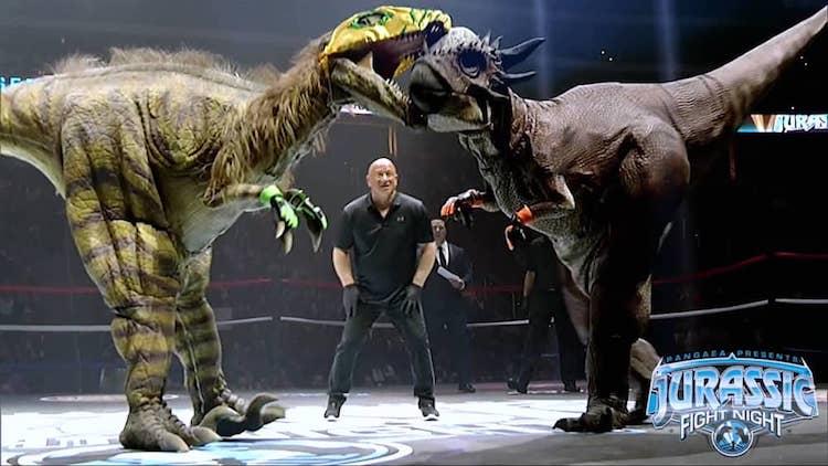 Jurassic Fight Night Scheduled in October