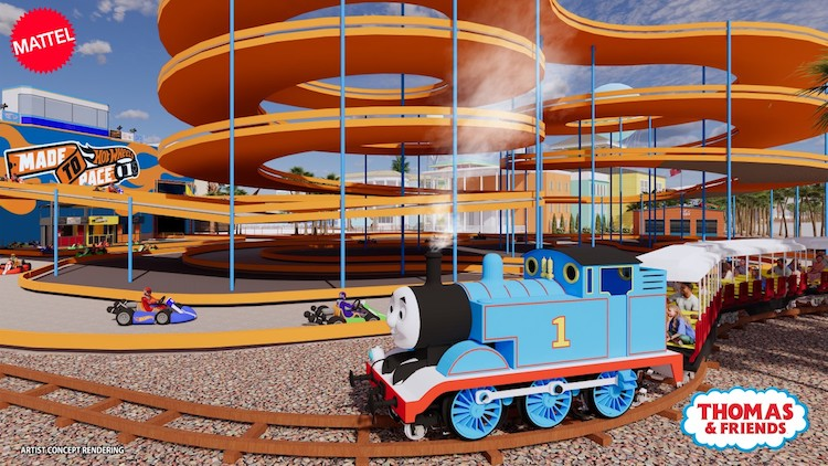 Mattel Adventure Park to Open in Glendale