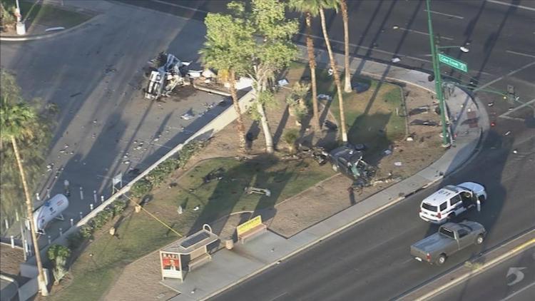 Phoenix Police Officer Killed in Crash Over Night