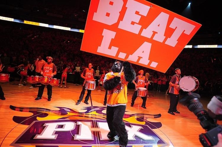 Phoenix Suns Eliminate Defending Champion Los Angeles Lakers