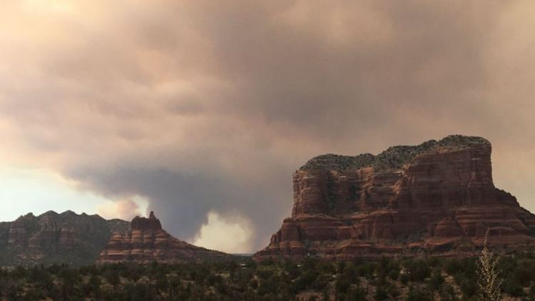 Evacuations Orders Issued for Rafael Fire Burning West of Sedona