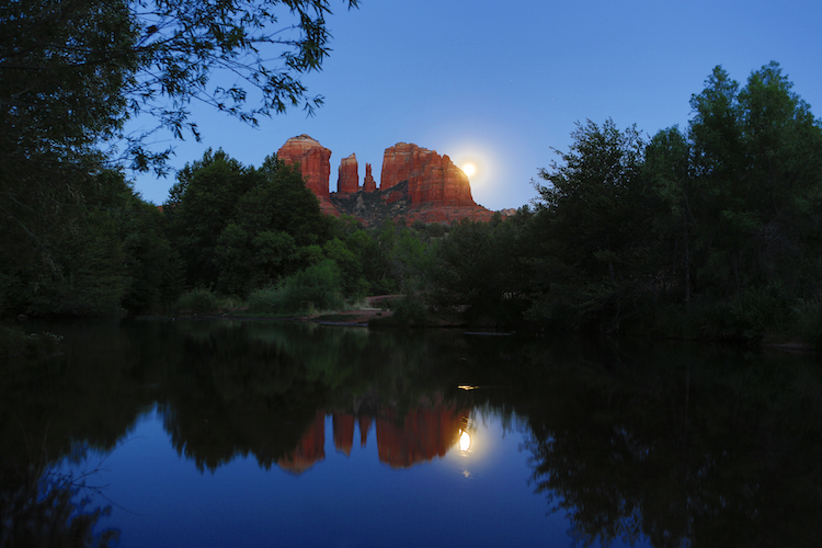 Register To Hike Under the Moon in Sedona
