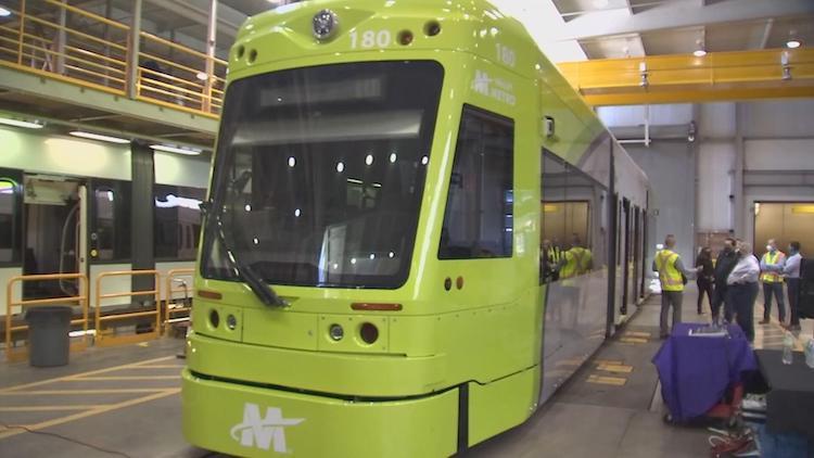 Tempe Testing Streetcars