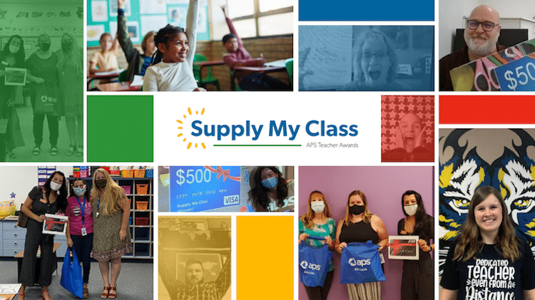 Arizona Teachers Given A Chance To Win $500 Through APS' Supply My Class