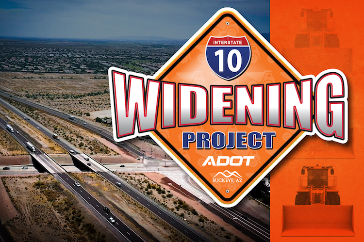 ADOT Set To Start I-10 Widening Project in Buckeye Area