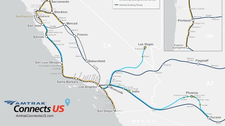 Mayors Want Amtrak Passenger Rail Service from Phoenix to Tucson