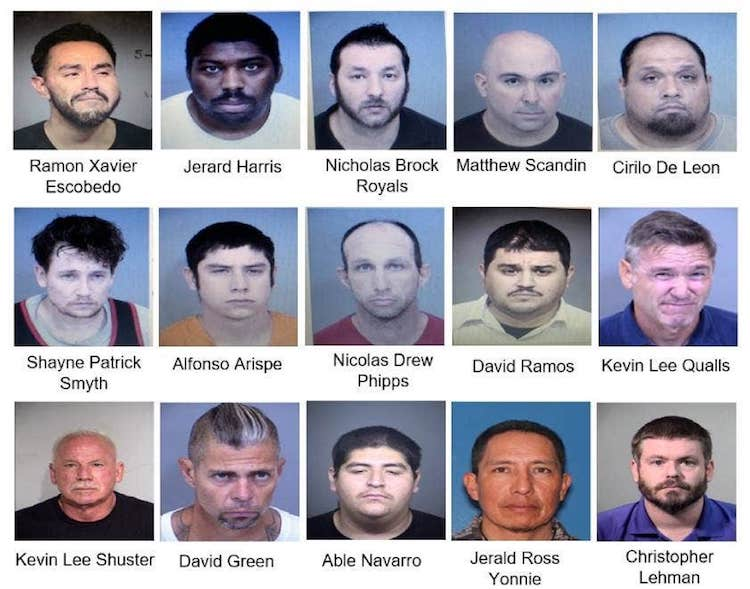 40 Arrested in Valley for Child Sex Trafficking