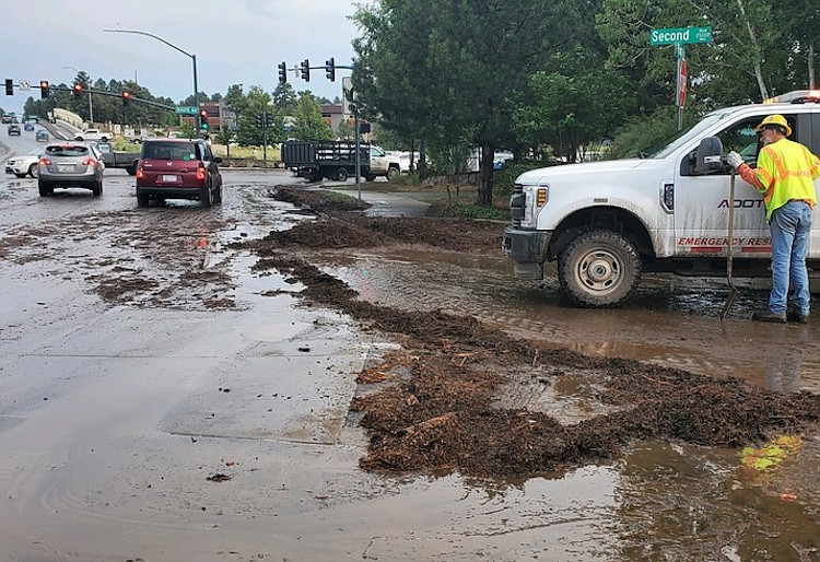 Governor Ducey Issues Declaration Of Emergency In Response To Flooding In Coconino County