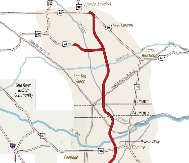ADOT Selects Final North-South Corridor Route in Pinal County